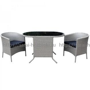 Комплект дачной мебели KVIMOL KM-0043 с чехлом