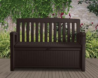 Скамья-сундук Патио Бенч (Patio Bench) коричневый