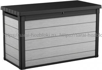 Сундук пластиковый DuoTech Deck Box антрацит