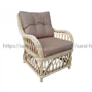 Кресло из натурального ротанга Kvimol KM-2004