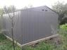 Сарай металлический Арчер Н (Ш*Д*В) 330х436х210 см. Серый