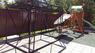 Хозблок металлический эконом для насосной станции ширина 3 глубина 1,8 дверь 240