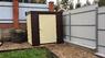 Металлический хозблок Эконом ширина 2 глубина 1,8 дверь 120