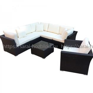 Комплект дачной мебели Kvimol КМ-0064 с чехлом