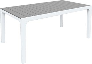 Стол Гармония (Harmony) серый-белый