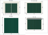 Металлический хозблок Эконом 3х3 м дверь 240 см