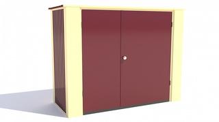 Хозблок Мини для сада ширина 2,5 глубина 1 дверь 120