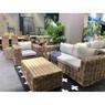 Комплект мебели из натурального ротанга КМ-2013 с одним креслом