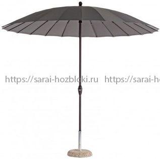 Зонт уличный Флоренция 270 см серый