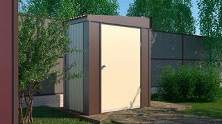 Садовый шкаф Эконом ширина 1,8 глубина 1 дверь 120