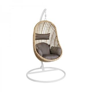 Подвесное кресло из натурального ротанга KVIMOL КМ-2010