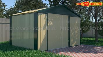 Хозблок Эконом для квадроцикла 4х4 м дверь120 см
