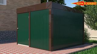 Хозблок Эконом для велосипеда 3х3 м дверь 120 см