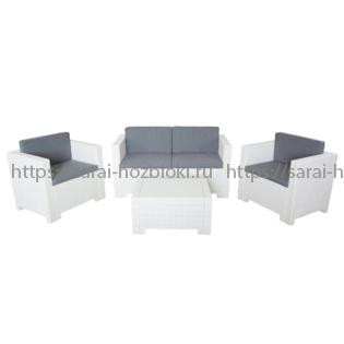 Комплект мебели белый Nebraska 2 Set