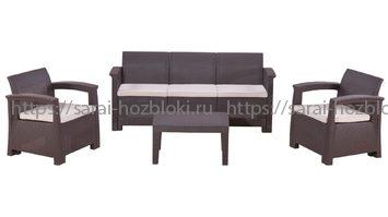 Комплект уличной мебели Rattan Comfort 5