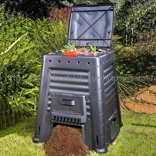 Садовый компостер на 650 л. Mega Composter