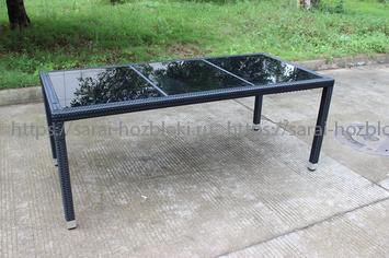 Стол из искусственного ротанга Kvimol КМ-0312