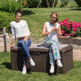 Пластиковый сундук Toomax Santorini Plus