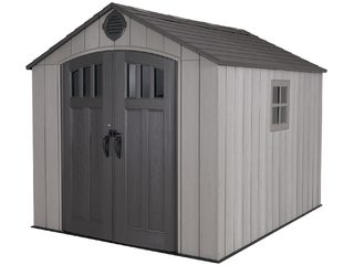 Пластиковый сарай WoodLook 8'x10' (233*(ш)*294(г)*243(в) см)