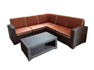 Угловой комплект садовой мебели Rattan Premium Corner
