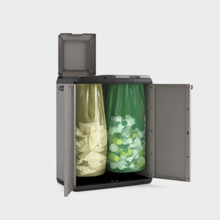 Шкаф для сбора мусора Split Basic (68х39х87см) (Сплит Бэйзик)