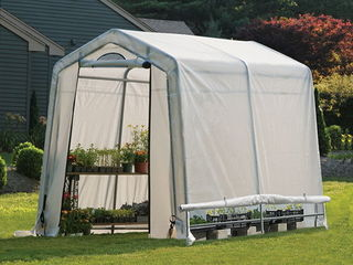 Теплица ShelterLogic 1,8x2,4x2 м. со светорассеивающим тентом