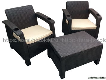 Комплект Yalta Balcony Set венге