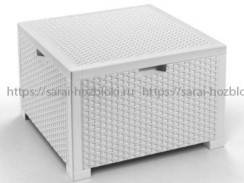 Ящик для подушек для мебели белый